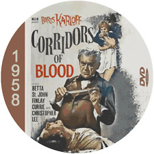 "Corridors of Blood (1958) Classic Horror and Drama CULT ""B-Movie"" DVD"
