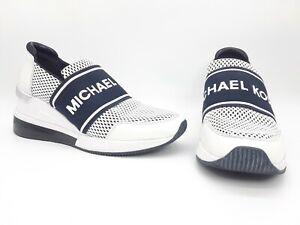Michael Kors Felix Women Shoes Trainer Extreme Sneakers Blue Sz 5 M