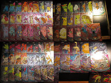 NM COMPLETE Pokemon CHROME ADVANCED Series 1 TOPPS Trading Card Set Charizard