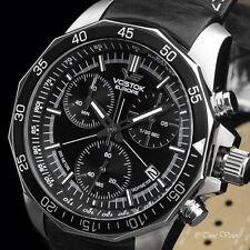 Vostok-Europe N1 Rocket Leather Strap Quartz Watch - 6S30-2255177