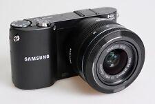 Samsung NX NX1000 20.3MP Digital Camera - Black (Kit w/ 20-50mm Lens) EC