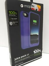 FULLY CHARGED Purple Mophie Juice Pack Air Extra Battery Slim Case 4 Iphone 6 6s