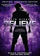 Justin Bieber - Believe (DVD) (NEW AND SEALED) (REGION 2) (FREE POST)