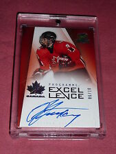 09-10 The Cup Steven Stamkos Programme of Excellence Auto 6/10 Very Rare CANADA