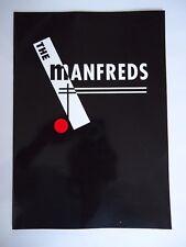 MANFRED MANN THE MANFREDS CONCERT PROGRAMME 1995 TOUR ORIGINAL VINTAGE GEM RARE