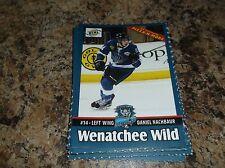 2015-16 DANIEL NACHBAUR WENATCHEE WILD BCHL BCJHL SINGLE PLAYER CARD