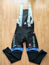 Garmin Sharp Pro Cycling team Thermal Bib Tights Kiss3 Chamois Size: XL RARE!