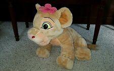"""Giant 20"""" Lion King Nala plush pink flower stuffed animal Disney #PL"""