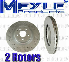 2x---Meyle GEOMET®Anti Rust Coated Front Rotors Mercedes S550 4-Matic & S600