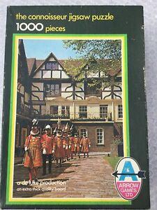 """Arrow Games """"Connoisseur Jigsaw Puzzle"""" 1000 Pieces"""
