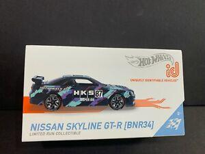 Hot Wheels ID Nissan Skyline GT-R BNR34 HKS FXB02-998C 1/64