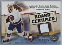 2001-02 Fleer Greats Of The Game Board Certified Mike Bossy (110319-99)