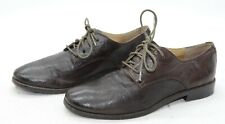 Frye Anna Oxford Womens Sz 7 Career Office Leather Brown Laced Up Oxfords Shoes
