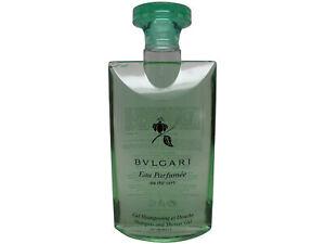 Bvlgari au the Vert (Green tea) Shampoo and Shower Gel 6.8oz 200ml