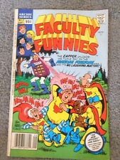 Archie Series FACULTY FUNNIES  No 2,  September, 1989 Comic Book - The Zapper...