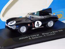 JAGUAR D TYPE #4 SANDERSON/FLOCKHART WINNER LE MANS 1956 IXO LM1956 1/43