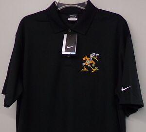 Nike Golf Miami Hurricanes Sebastian Mens Embroidered Polo XS-4XL, LT-4XLT New