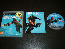 BRINK Sony PlayStation 3 PS3 Game