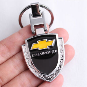 CHEVROLET Logo Metal Car Keychain Key Ring for Camaro Silverado Corvette Impala