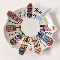 Danielle Kroll Ring Dish Anthropologie PARIS, Ceramic Jewelry Trinket Dish