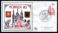 FRANCE BLOC CNEP N° 4 sur FDC SALON PHILATELIQUE 1983 NORDEX LILLE - LUXE