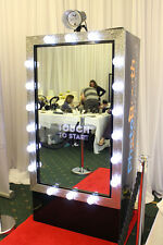 Magic Mirror Photobooth Selfie Photo Booth hire Wedding Party Essex Kent London