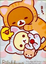 San-X Rilakkuma Relax Bear A4 Plastic File Folder #64 (Cat)