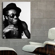 Poster Lil Wayne Rapper Musician 40x54 inch (100x135 cm) on Adhesive Vinyl #06BW
