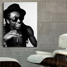 Poster Mural Lil Wayne Rapper Musician 40x54 inch (100x135 cm) on Adhesive Vinyl