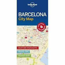 Lonely Planet Barcelona City Map by Lonely Planet 9781786574107 Waterproof