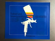 1979 Porsche 928 Coupe FACTORY issued Color Chart Folder / Brochure RARE Awesome