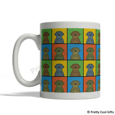 Mastiff Dog Mug - Cartoon Pop-Art Coffee Tea Cup 11oz Ceramic English