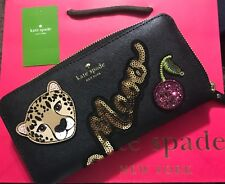 Kate Spade New York Leopard Neda Wallet