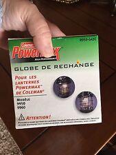 COLEMAN Vintage Coleman Replacement Glass Lamp Lantern Part 9950 bx86