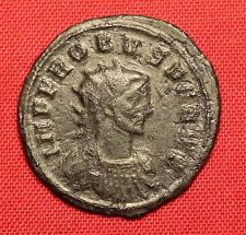 Ancient Roman Silvered Bronze Antoninianus, Probus - PAX AUGUSTI