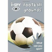 Collins Michelin i-SPY Football grounds Paperback 2016
