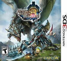 Monster Hunter 3 Ultimate (Nintendo 3DS) BRAND NEW &FACTORY SEALED Free Shipping