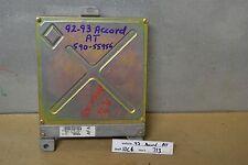 1992-1993 Honda Accord Engine Computer Unit ECU 37820PT3A54 Module 13 10C4