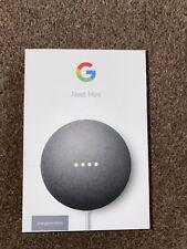 2nd Hand google nest mini 2nd generation charcoal