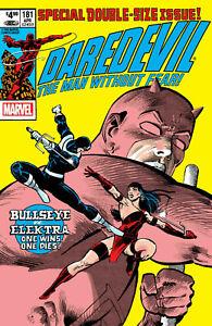 Daredevil #181 (Facsimile Edition / Elektra Death / 1982 / NM)