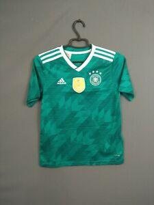 Germany Jersey 2018 2019 Away Youth 11-12 Shirt Adidas Football BR3146 ig93
