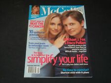 1999 SEPTEMBER MCCALL'S MAGAZINE - MICHAEL J. FOX & TRACY POLLAN COVER - O 7914