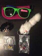 Kids Accessories Lot Sunglasses Case Keychain Scrunchie Dolphin Necklaces Bundle