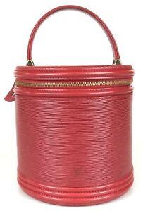 100% authentic Louis Vuitton Epi Cannes M48037 handbag used 1057-3-e@2b
