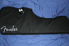 Fender Series 46 Black Electric Guitar Gig Bag For Strats or Teles, 099-1612-001