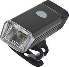 Luz LED COB para bicicletas con carga mediante USB. 4 Modos de luz.