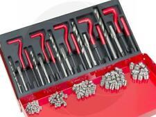 131Pcs Helicoil Type Damaged Aluminum Thread Repair Tool Kit M5 M6 M8 M10 & M12