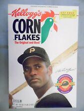 1995 Kellogg's Corn Flakes Roberto Clemente Commemorative Box - Never Opened