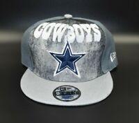 Dallas Cowboys NFL New Era 9FIFTY Cloud Print Snapback Cap Hat
