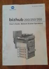 Konica Minolta Bizhub 200/250/350 User Guide books